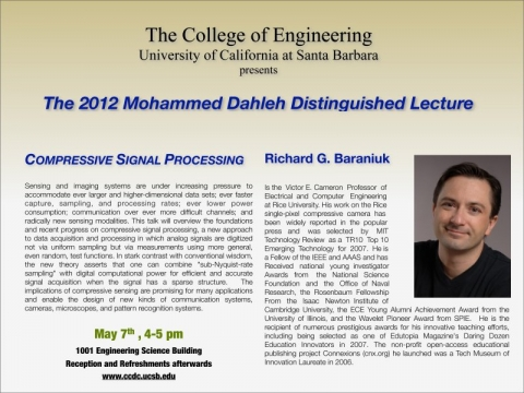 2012 Mohammed Dahleh Distinguished Lecture
